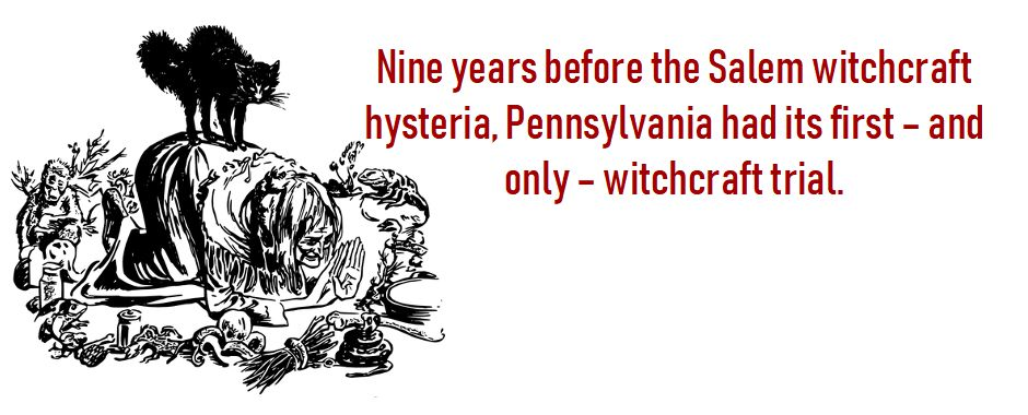Pennsylvania's Witchcraft Trial